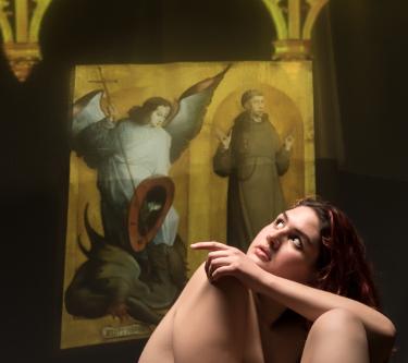 CICLO  Fotografía Desnudo Artístico <br>Periodos Pictóricos<br>4 - Julio- 2017<br>3 horas <br>Taller ...Luces del Renacimiento
