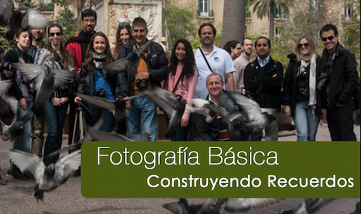 Curso de Fotografía<br/>Iniciación a la Fotografía 1<br/>18 de Marzo <br/> Turno Tarde<br/> 18 horas de clase